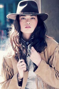 jen dau3 796x1200 Jen Dau by Gavin Rea in Urban Cowgirl for Fashion Gone Rogue