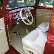 1948 Ford F1 Optimal Leather Interior