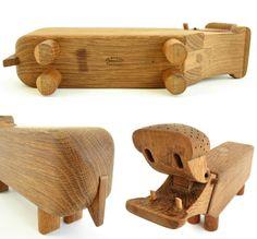 Danish Modern Kay Bojesen Wooden Hippo / by WestCoastModern