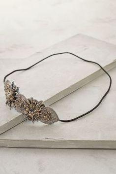 Moonflower Headband #Anthropologie