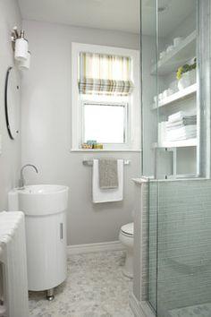 Petite Bathroom Reno - contemporary - bathroom - toronto - Jo Alcorn