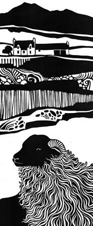 Black Face Ewe by Liz Myhill
