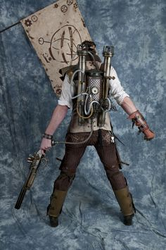 10 amazing DIY backpacks - this one is crazy! (Steampunk Gadgets Diy)
