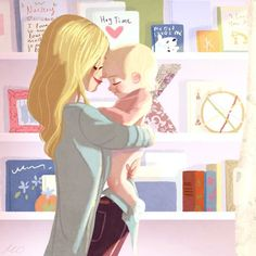 New Baby Ilustration Art Mom Ideas Mama Baby, Baby Hug, Mom And Baby, Family Illustration, Children's Book Illustration, Dragon Illustration, Mermaid Illustration, Illustration Children, People Illustration