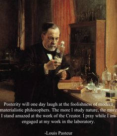 Louis Pasteur one of many creationist scientists