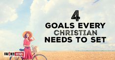 """4 Goals Every Christian Needs To Set ~ Growing in Holiness ~ The Apostle Peter wrote """"grow in the grace and knowledge of our Lord and Savior Jesus Christ. To him be the glory both now and to the day of eternity. Amen"""" (2nd Pet 3:18), so one way to grow in the knowledge of Jesus Christ is to read about Him in the gospels, but we're also to grow in the grace of our Lord, and that means, live more like Christ, day by day. We should be growing in holiness over time, [...]"""