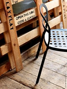 Reidar IKEA Stuhl aus Aluminium