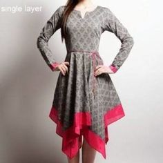 Stylish Dress Designs, Designs For Dresses, Stylish Dresses, Simple Dresses, Casual Dresses, Fashion Dresses, Frock Fashion, Mini Dresses, Pakistani Fashion Casual