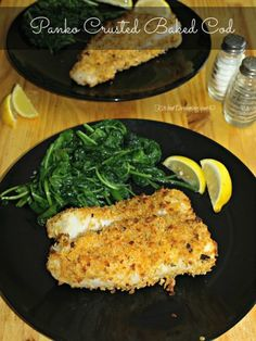 Kitchen Dreaming Panko Crusted Baked Cod Fish | Kitchen Dreaming