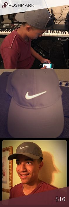 Nike adult Unisex Golf Hat Nike Gray Adult Unisex Golf Hat Dri-Fit Nike  Accessories 8ace892e4b89