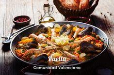 Paella Appetizer Recipes, Appetizers, Milanesa, Tapas, Paella, Food Hacks, Menu, Ethnic Recipes, Tortillas