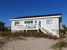 "Edisto Island House Rental: 130 Palmetto Blvd - ""not Too Crabby"" 