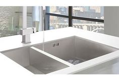 Stylish Bluci Kube undermount sinks