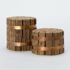 Terrain Fastened Wood Candle Stands #shopterrain