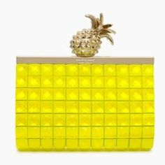 Kate Spade Pineapple Clutch