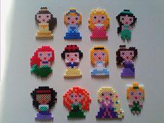 pyssla hama beads principesse harry potter di HelenaLestrange