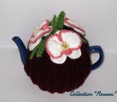 Tea cozy. Teapot cosy. Crochet Tea Cozy. от handmadetoysrus