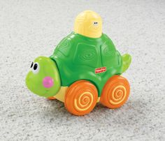 Amazon.com : Fisher-Price Go Baby Go! Press And Crawl Turtle : Push And Pull Baby Toys : Baby *6 PAID