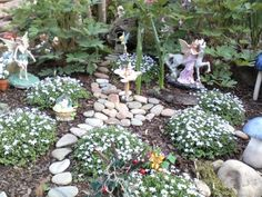 Fairy Garden Decorating Ideas | ... the fairy garden will continue to grow and change., Gardens Design