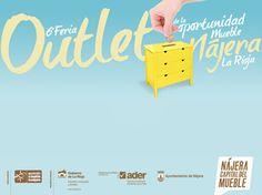 #Nájera: Del 25 de julio al 3 de agosto se desarrolla la 6ª #Feria #Outlet del #Mueble de Nájera ¡Encontrarás #muebles de las últimas temporadas a precios muy #económicos!!.... además con la garantía de la Asociación el Mueble de Nájera
