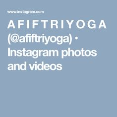 A F I F T R I Y O G A (@afiftriyoga) • Instagram photos and videos