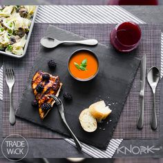 KNORK has creatively, and strategically designed modern flatware for how we naturally eat.