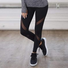 Quick-drying Net Yarn Yoga Pants Black High Waist Elastic Running Fitness Slim Sport Pants Gym Leggings for Women Trousers #yoga #fitness #fit #amalhantashfitness #leggings #fitnessmodel #fitnessaddict #fitspo #workout #bodybuilding #cardio #gym #train #training #health #healthy #pants #healthychoices #active #strong #motivation #running #determination #lifestyle #diet #getfit #cleaneating #eatclean #exercise #mtlfitness
