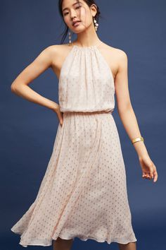 Shop the Blushed Metallic Halter Dress and more Anthropologie at Anthropologie today. Read customer reviews, discover product details and more.