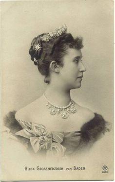 Grand Duchess HILDA OF BADEN nee Princess of Luxembourg