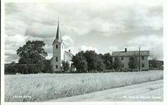 Nord-Trøndelag fylke Stjørdal kommune Lånke kirke og prestegård Utg Oskar A. Johansen, Stjørdal stemplet 1940