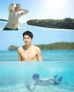 Cha Eun Woo - Law of the Jungle Boys In Groove, Law Of The Jungle, Ao Haru, Astro Wallpaper, Beach Date, Eunwoo Astro, Cute Asian Guys, Korean Star, Korean Men
