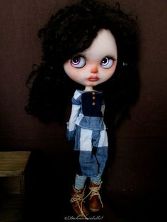 Blythe Doll Outfit / 1/6 doll size / Long sleeve by Dakawaiidolls, $50.00