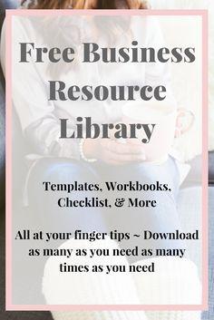 Free Business Resource Library. Keyword checklist + blog planning kit + Social Media Planning Kit + Etsy Keyword Checklist + Much More