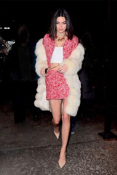 Kendall Jenner's always had incredible style, but her slew of holiday party outfit ideas is exceptional at best. Shop our favorites here.