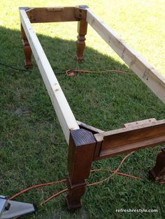 How to Make a Bench - Welcome to reFresh reStyle!