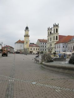 Central Square in Banska Bystrica, September 2012 - more at http://our.travel