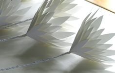 Pure White Protea Project - Freshly Found - mostly recycled content