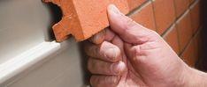Corium Brick Cladding System is made up of genuine brick tiles that clip into th.Corium Brick Cladding System is made up of genuine brick tiles that clip into the system& galvanized steel tray sections. 19 Ceramic roof tiles R. Brick Tiles, Brick Wall, Roof Tiles, Brick Cladding, Brickwork, House Cladding, Brick Facade, Cladding Systems, Casas Containers
