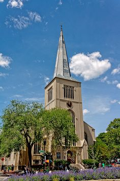 Christ Church at Zero Church Street in Harvard Square