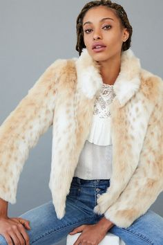 Wild Thing Faux Fur Jacket