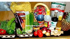 Filipino food ingredients