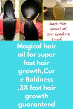 Magical hair oil for super fast hair growth,Cure Baldness ,3X fast hair growth guaranteed Today I will share about magical homemade hair oil for extreme hair growth. It helps in regrowing thinning areas on your scalp and genuinely works 100% in growth of hair. If you are suffering from hair loss and baldness, then this remedy can do wonders for you. For best results do this treatment 2-3 times in a week. …
