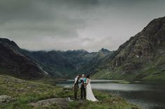 How perfect is this Isle of Skye elopement!