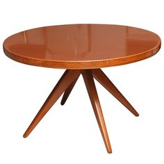 Swedish Modern Extension Dining Table