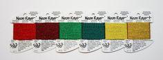 Neon Rays Plus 3.25 Each Rainbow Gallery by terrymillerdesigns