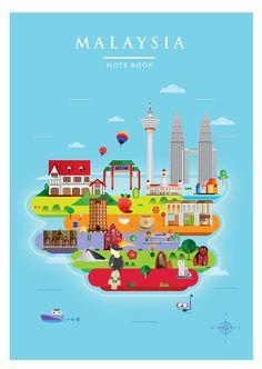 Tourism Malaysia 2015 on Behance