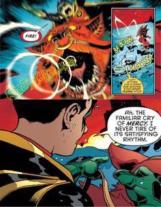 Robin Son of Batman 9. Damian Wayne. Goliath.