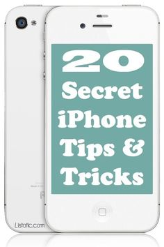 20 Awesome iPhone Tips & Tricks (with picture tutorials) that you might not of known. #ReclaimedBrands #Tips #Tricks #Awesome #IPhone