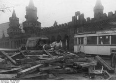 Berlin 1945 Oberbaumbrücke im Februar '45