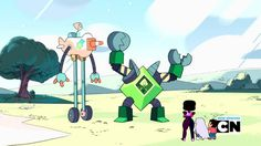 On Steven Universe, Giant Robots Are Only Second To The Power Of Friendship